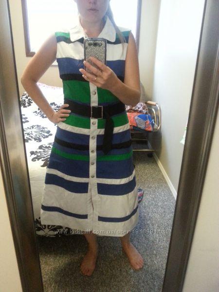 Стильное летнее платье р-р 44