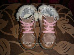 Кожаные деми ботиночки Clarks UK 5, 5 EUR 22