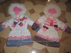 Акция осени Шикарные зимние пальто КIКO р. 116-134 Оригинал-Распродажа