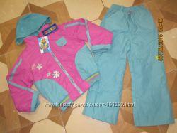 Новый костюм-ветровка и штаны на девочку р. 122-128 ф-ма DANILO-Оригинал