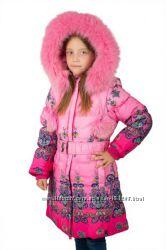 Шикарные пальто  КIКO р. 116, 122, 128 и 134 см. -Оригинал-Распродажа