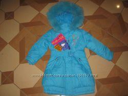 Шикарные зимние пальто КIКO р. 110 -Оригинал-Распродажа