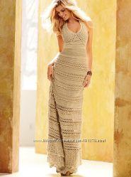Нежный вязанный сарафан Victoria&acutes Secret, бу, размер 46-48