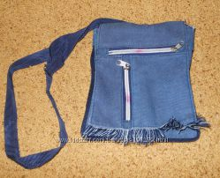 Дитячі сумочки - джинсова та чорна з пайєтками і гаманцем 74c791beea953