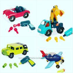 Battat Разборные автомобили и самолет