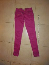 Продам бузкові джинси Bershka на дуже худеньку дівчинку