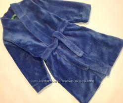 Теплый плюшевый халат Mothercare 3-4 лет бу