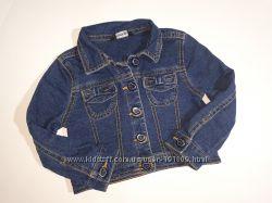 Джинсовый пиджак George 1-1. 5 года бу
