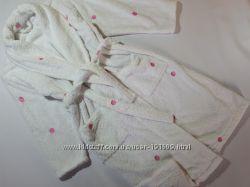 Женский теплый плюшевый халат M&S 44-46 бу