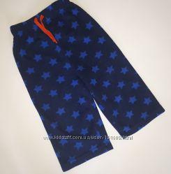 Теплые флисовые пижамные штаны M&S 1. 5-2 лет бу