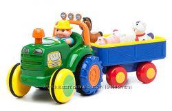 Трактор с прицепом Kiddieland бу