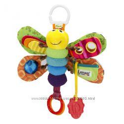 Развивающая игрушка Мотылек Фредди от Lamaze бу