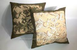 Комплект декоративных подушек для дивана, кресла, автомобиля, уличной мебе