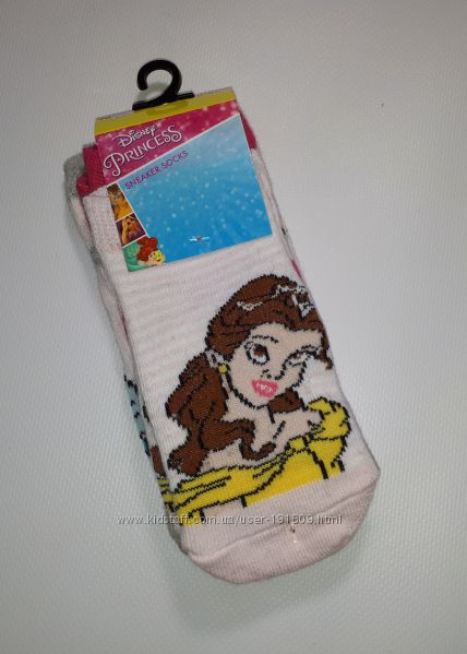 Носки Disney Принцессы 31-34 Новые в упаковке