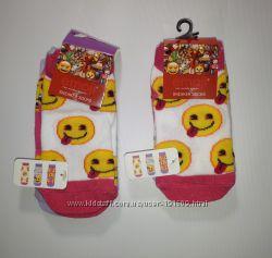 Носки Emoji Смайлики 23-26, 27-30 Новые в упаковке