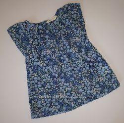 Легкая летняя рубашка блуза H&M девочке 4-5 лет бу