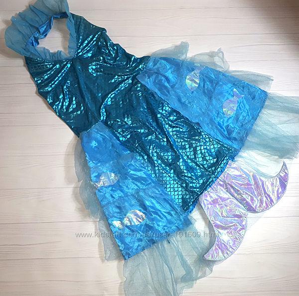 Яркий карнавальный костюм Русалочка 42-44 бу можно девочке подростку