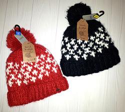 Теплая зимняя шапка Next 3-4, 5-6 лет