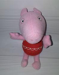 Мягкая игрушка Свинка Пеппа Zoggs бу