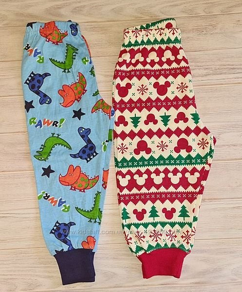 Домашние пижамные штаны Disney 12-18 мес