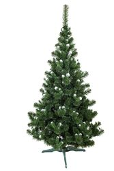 Искусственная зеленая елка Карпатская  ПВХ