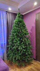 Искусственная зеленая елка Буковельская литая