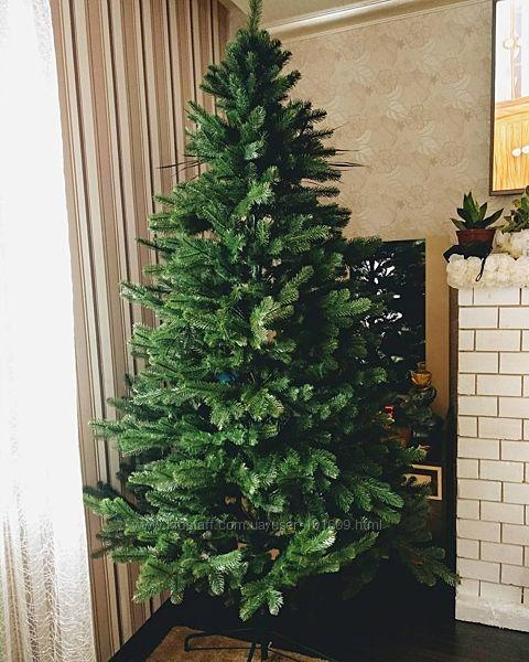 Искусственная зеленая елка Ковалевская литая