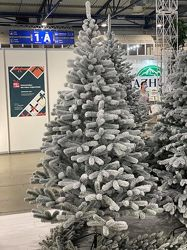 Искусственная  елка Президентская заснеженная литая