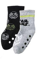 Детские носки махровые антискользящие Звездные войны комплект 2 пары Lupilu