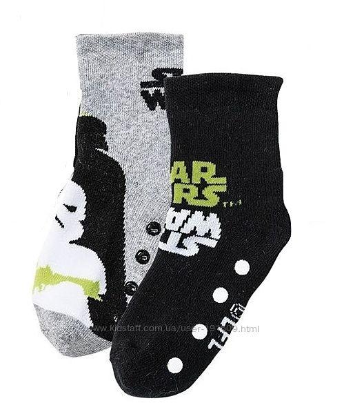 Детские носки махровые Звездные войны 2 пары Lupilu 23-26, 27-30, 31-34