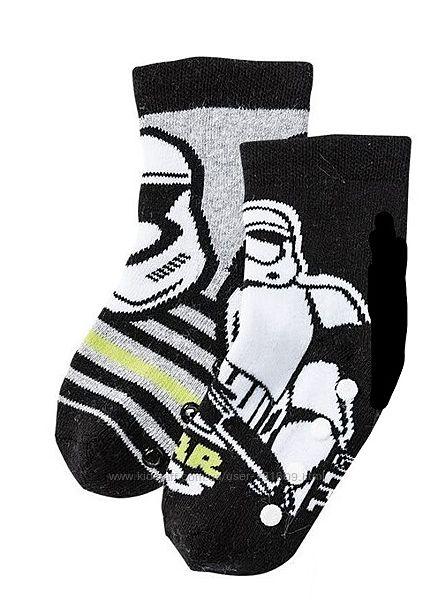 Детские носки махровые Звездные войны комплект 2 пары Lupilu 27-30