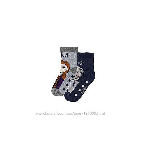 Детские носки махровые Холодное сердце 2 пары Lupilu 27-30