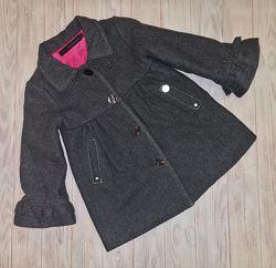 Пальто Calvin Klein девочке 1-2 года Оригинал бу