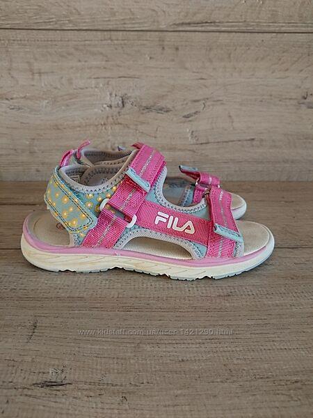 Босоножки спортивные сандалии Фила Fila 29р 19 см на липучках