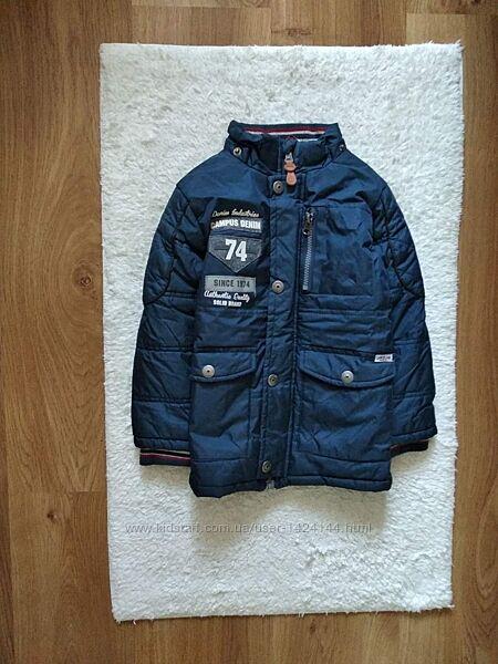 Классная курточка темно синего цвета Campus Denim.  на 4 - 5 лет.