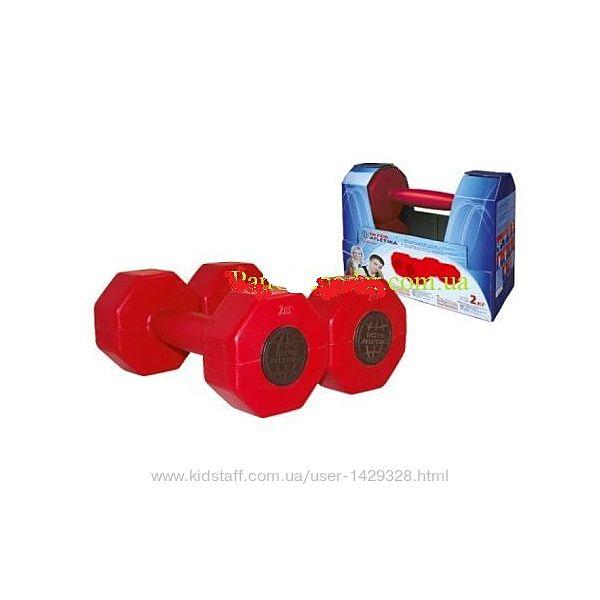 Гантели Inter Atletika 2 штуки по 2 кг