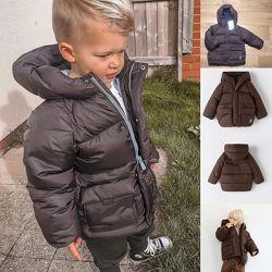 Куртка zara новая оригинал демисезонная 92 104 110 см