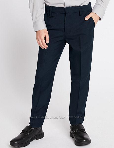 Школьные брюки на мальчика Skinny Slim Fit Marks & Spenser