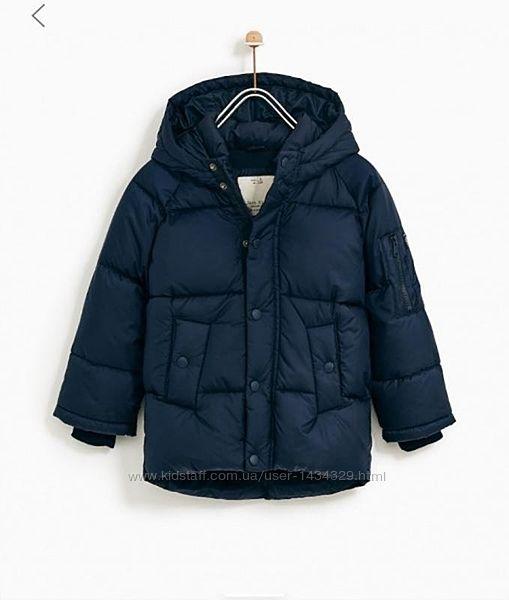 Курточки на мальчиков от бренда Zara