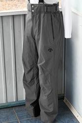 Descente брюки горнолыжные утепленные серые рост 170 рост
