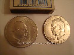 Монета Англии номиналами 5 шилингов