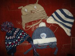 Зимняя и другие шапки на малыша