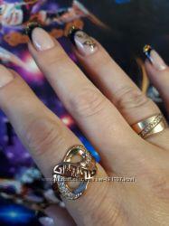 Кольцо из медицинского золота 17, 5 и 18