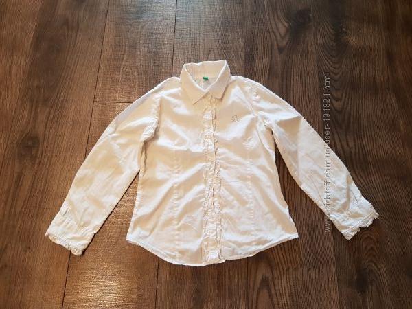 Блузка-рубашка Benetton  р. 120-128