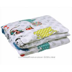 Детские одеяла ТМ Руно хлопковые, шерстяные, антиаллергенные, на леб. пухе