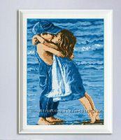 Набор для вышивания Поцелуй на пляже