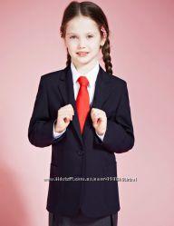 Пиджак школьный для девочки черный 6 лет M&S МСпенсер Англия