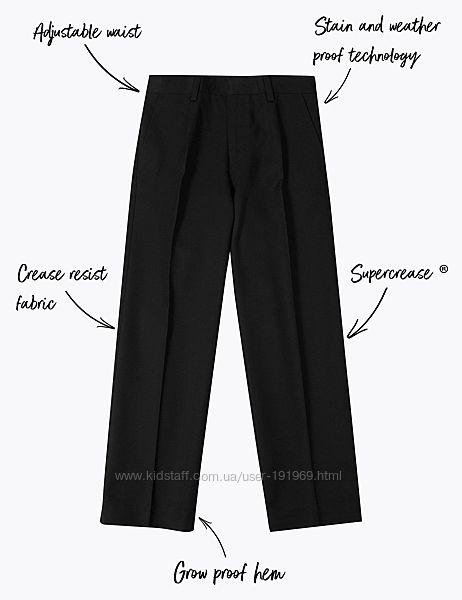 Черные школьные брюки 11 лет бренд Marks and Spencer