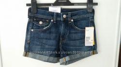 Джинсовые шорты англ. размер 6 евро 32 бренд НМ Англия
