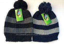 Шапки для мальчиков деми зима 52-54